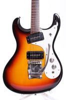 1990s Mosrite The Ventures Model sunburst