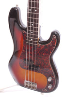 1983 Squier Precision Bass 62 Reissue sunburst