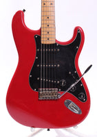 1992 Squier by Fender Japan Stratocaster torino red