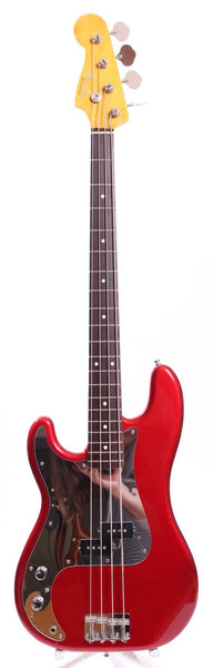 2008 Fender Precision Bass 62 Reissue LEFTY candy apple red