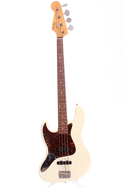 1993 Fender Japan Jazz Bass '62 Reissue olympic white LEFTY