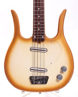 1960s Dynelectron Longhorn Bass copper burst