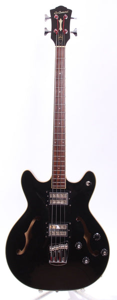 1998 DeArmond by Guild Starfire Bass black