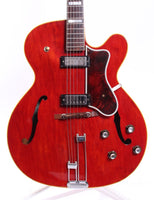 1966 Epiphone Broadway E252 cherry red