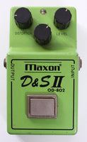 1981 Maxon D & S II OD-802 Overdrive Distortion