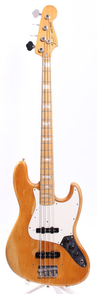 1975 Fender Jazz Bass natural
