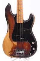 1975 Fender Precision Bass sunburst