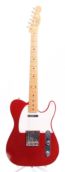 2011 Fender Custom Shop 1950s Telecaster Relic candy apple red