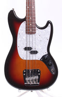 2007 Fender Mustang Bass sunburst