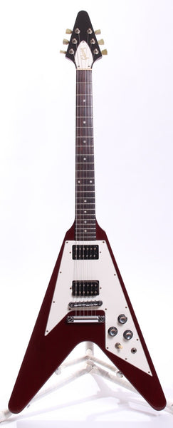1990 Gibson Flying V 67 Reissue cherry red