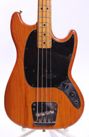 1977 Fender Mustang Bass natural