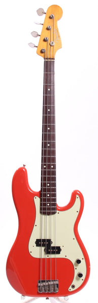 1994 Fender Precision Bass 62 Reissue fiesta red