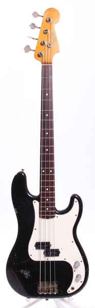 1982 Fender Precision Bass 62 Reissue black