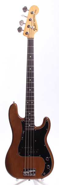 1974 Fender Precision Bass mocca brown