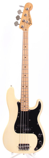 1976 Fender Precision Bass olympic white