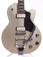 1998 DeArmond by Guild M-75T silver sparkle metallic