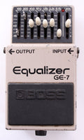 1980s Boss GE-7 Equalizer