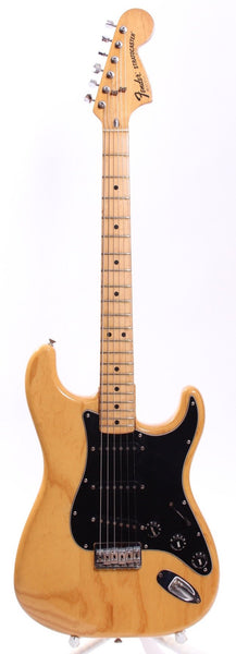 1977 Fender Stratocaster Hardtail natural