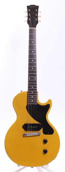 2001 GIBSON LES PAUL JUNIOR 57 REISSUE HISTORIC SERIES TV Yellow