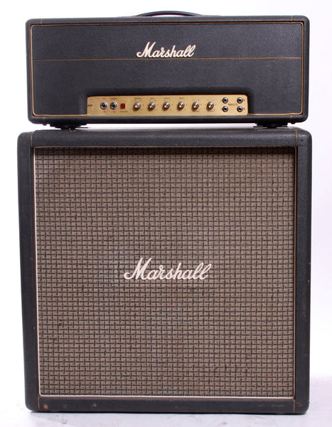 "1973 Marshall Super Bass Amplifier with 4x12"" Cabinet"