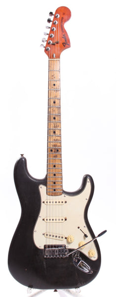1973 Fender Stratocaster black over olympic white