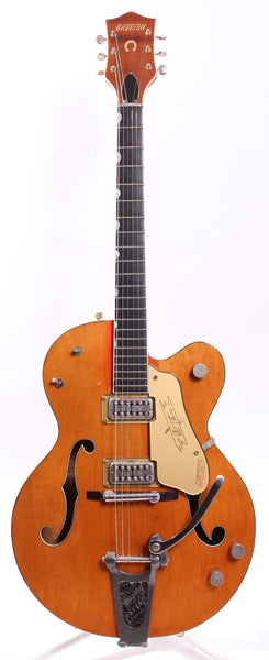 1958 Gretsch 6120 orange