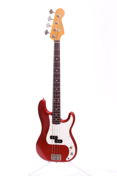 1990 Fender Japan Precision Bass '62 Reissue candy apple red