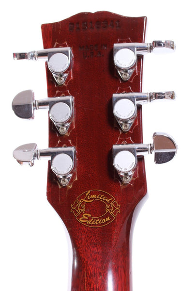 1996 Gibson Les Paul Junior Double Cutaway cherry red