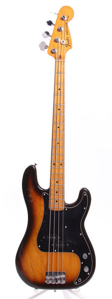 1979 Fender Precision Bass sunburst