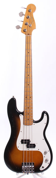 1990 Fender Precision Bass '57 Reissue sunburst