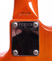 1991 Fender Jazzmaster 62 Reissue custom order orange burst