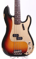 1991 Fender Precision Bass 59 Reissue sunburst