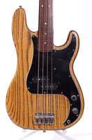 1976 Fender Precision Bass fretless natural