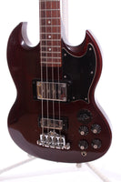 1972 Gibson EB-0 Bass cherry red