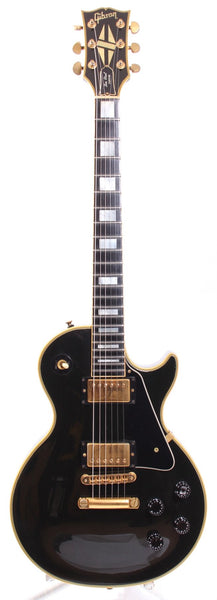 1991 Gibson Les Paul Custom ebony