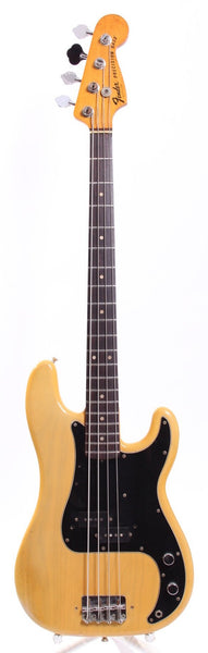1977 Fender Precision Bass blonde