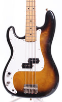 1978 Greco Precision Bass 57 Reissue LEFTY sunburst