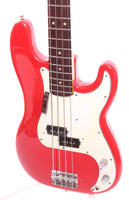 1974 Fender Precision Bass dakota red