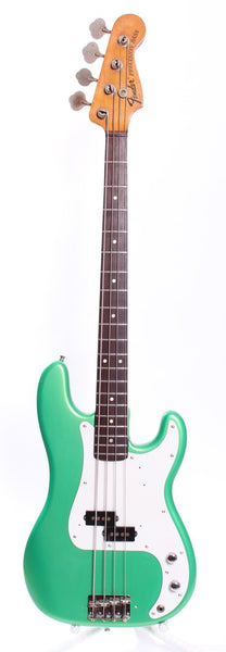 1974 Fender Precision Bass metallic green