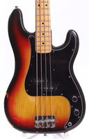 1976 Fender Precision Bass sunburst