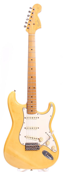 1986 Fender Stratocaster 67 Reissue maple cap vintage white