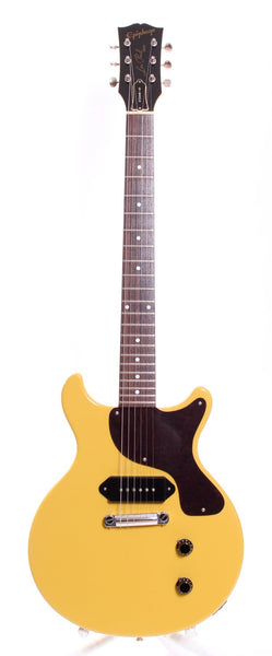 2002 Epiphone Japan Les Paul Junior Double Cutaway tv yellow