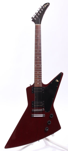 1996 Gibson Explorer 76 Reissue cherry red