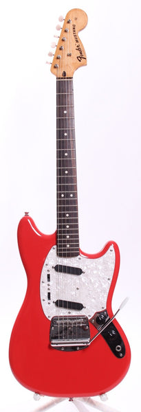 2012 Squier Vintage Modified Mustang fiesta red