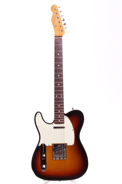 2005 Fender Japan Telecaster Custom '62 Reissue sunburst LEFTY