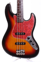 1999 Fender Jazz Bass 62 Reissue sunburst