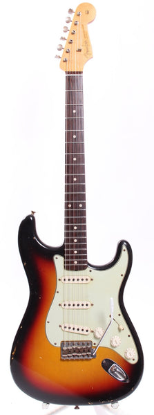 2011 Fender Stratocaster 1960 Relic Custom Shop sunburst