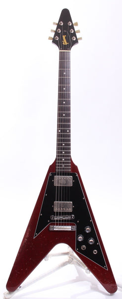 2000 Gibson Flying V 67 Reissue cherry red