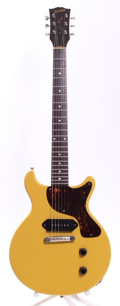 1994 Orville Les Paul Junior double cutaway tv yellow