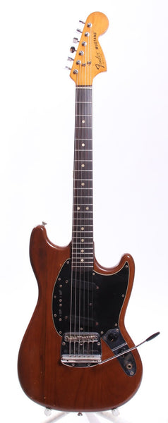 1979 Fender Mustang mocca brown